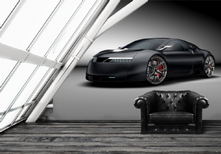 Sportwagen super sports car wall murals